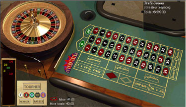 Roulette ratee
